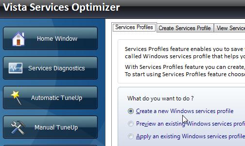 Snabbare Windows med Vista Services Optimizer